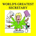 world's greatest secretary gifts t-shirts