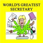 world's greatest secretary gifts t-shirts