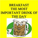 beer for breakfast joke gifts -tshirts posters