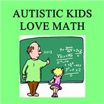 autistic girls math gifts t-shirts
