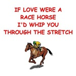 horse racing love joke gifts t-shirts
