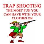trap shooting joke