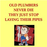 plumber joke Gifts and t-shirts