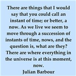 Julian Barbour quotes