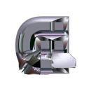Heavy Metal initial letter G monogram