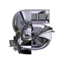 Heavy Metal initial letter S monogram