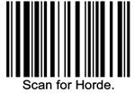 Scan for Horde