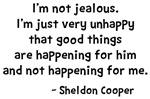 Jealous Sheldon Shirts