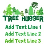 Personalized Tree Hugger Shirts