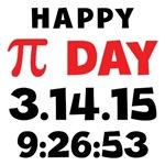Happy Pi Day 2015 Tees