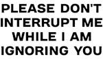 Ignoring You