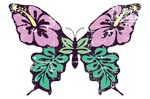 Cute Vintage Butterfly