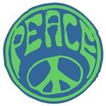 Hippy Retro Peace T-shirts
