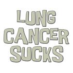 Lung Cancer Sucks Shirts