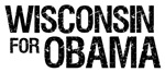 Wisconsin For Obama T-shirts