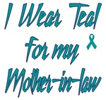 Ovarian Cancer Support Mother-in-law Shirts