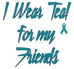 Ovarian Cancer Support Friends Shirts