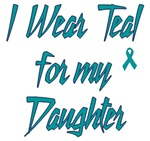 Ovarian Cancer Support Daughter Shirts