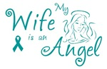 Ovarian Cancer Angel Wife T-shirts
