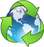 Earth Day Recycle Buttons