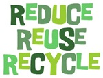 Reduce Reuse Recycle Tee Shirts