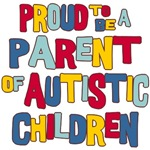 Parent Of Autistic Children T-shirt