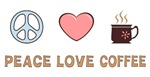 Peace Love Coffee T-shirts