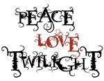 Peace Love Twilight T-shirt