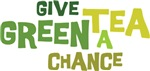 Give Green Tea a Chance T-shirts