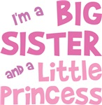 Big Sister Little Princess T Shirt