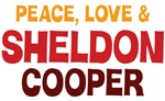 Peace Love Sheldon Cooper Shirts