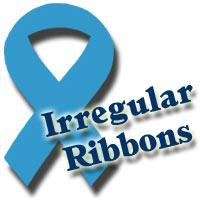 Irregular Ribbons