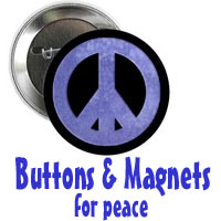 Buttons and Magnets for Peace