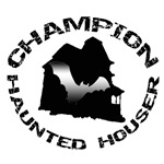 Champion Haunted Houser House T-Shirts & Gifts