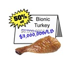 Bionic Turkey On Sale T-Shirts & Gifts
