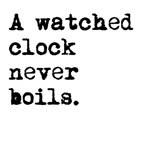 A Watched Clock
