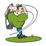 Cartoon Golfer