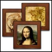 Da Vinci Framed Tiles