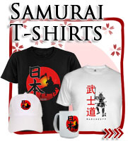 Japanese Samurai Warrior, Japanese T-shirts