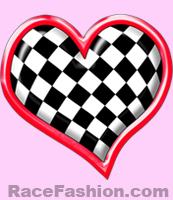 Checkers Flag HEART