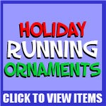 Holiday Running Ornaments