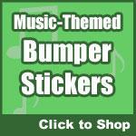 Music Bumper Stickers