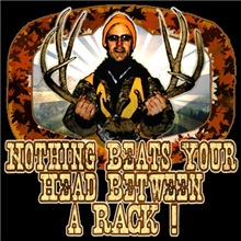 nothing beats your head between a rack this big bu