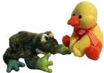 Frog and Duck Love