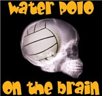 polo on the brain (water polo t-shirt)
