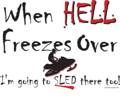 Hell Freezes