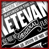 Vintage Ketevan logo in white