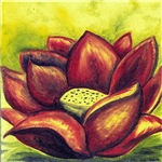 RED LOTUS FLOWER