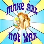 Pop-Art Make Art Not War
