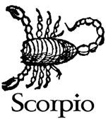 Scorpio October 24 - November 22
